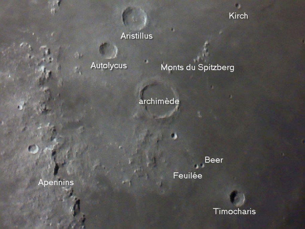 Les photos réalisées dans le cadre du Club Astronomie