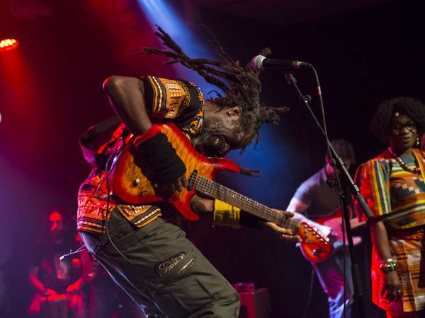 Jah Prince & the prophets @ Virtuoz club, octobre 2017