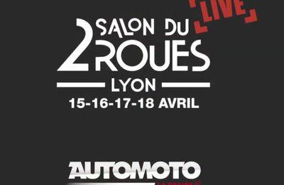 Le Salon du 2 Roues en direct cette semaine sur Automoto la Chaîne