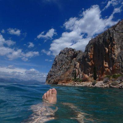 La mer, c'est le pied