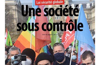A la une de Liberté Hebdo n°1456