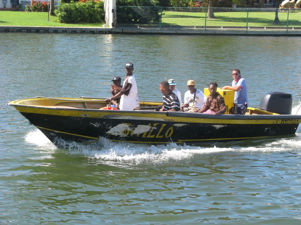 Navigation de ste-lucie à  la Guadeloupe, en passant par La Martinique, La Dominique