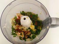 Préparaton des ingrédients pour le caviar