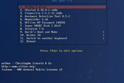 Ikki Boot : Un live CD avec de nombreux outils !