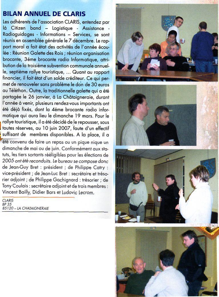 PRESSE-BOOK Association CLARIS