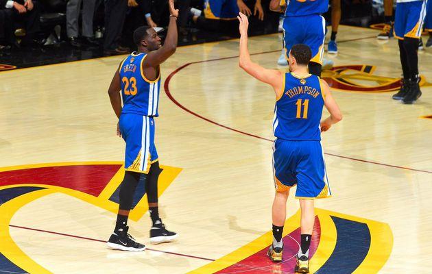 Deux nouveaux records à 3-pts en finales NBA pour les Warriors
