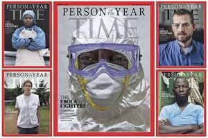Reuters - Ebola survivors, doctors named 'person of the year' by Time