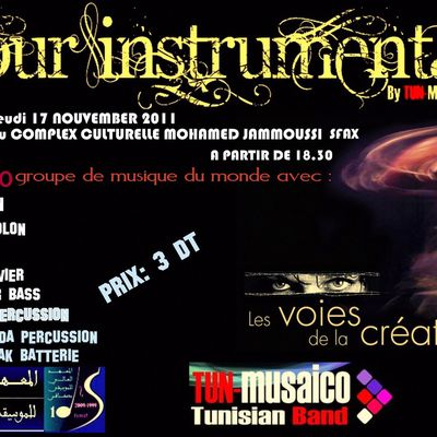 Sfax (Tunisie) - Amour instrumental, le 17/11/2011 au complexe Mohammed Jammoussi