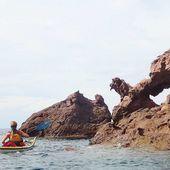 La joyeuse équipée de 9 kayakistes finistériens en Corse - Chapitre 10 - Randonnées kayak : les balades de Yanike