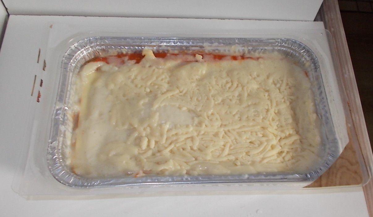 Lidl Chef Select Lasagne Bolognese mit Schweinefleisch