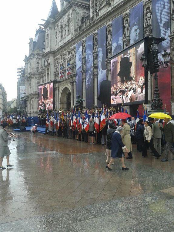 Commémoration de la libération de Paris.(2011/2012/2013).