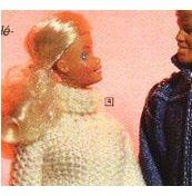 Pulls au tricot pour Barbie et Ken
