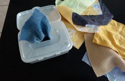 Boîte à tissus