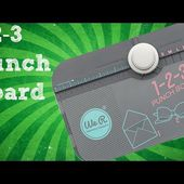 We R Memory Keepers: 1-2-3 Punch Board