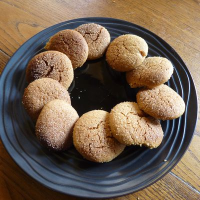 Petits gâteaux ginger
