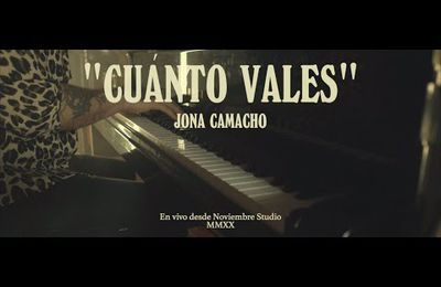 Jona Camacho - Cúanto Vales (MMXX Session) LIVE