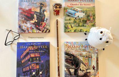 La magnifique collection illustrée des Harry Potter