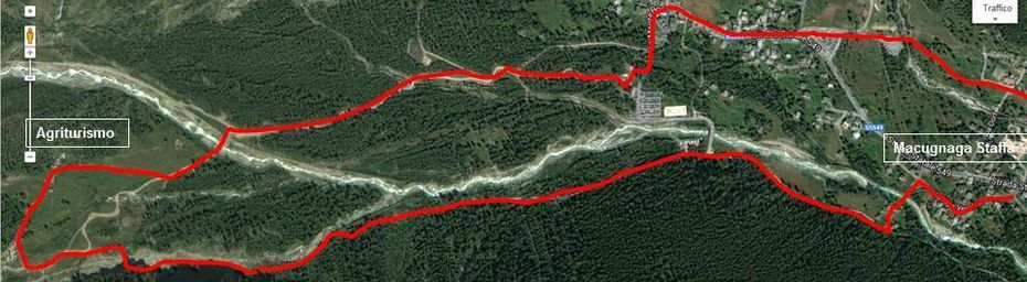 Circuito di trekking da Macugnaga (Staffa) all'Alpe Burki e ritorno
