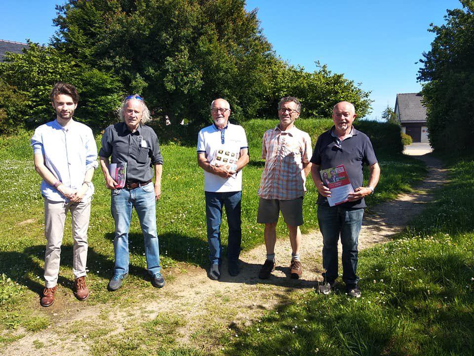 Corentin Derrien, Jean-Michel Parcheminal, Jean-Michel Floch, Jean-Luc Messager, René Chever