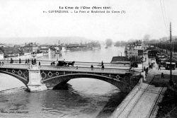 Album - la ville de Compiègne (Oise), la riviére Oise, le port de plaisance, les inondations