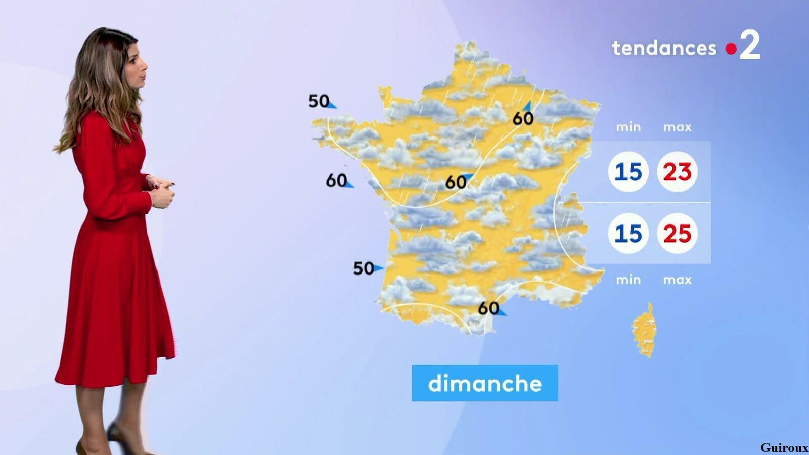 Chloé Nabédian 23/07/2021 Journaux météo du soir