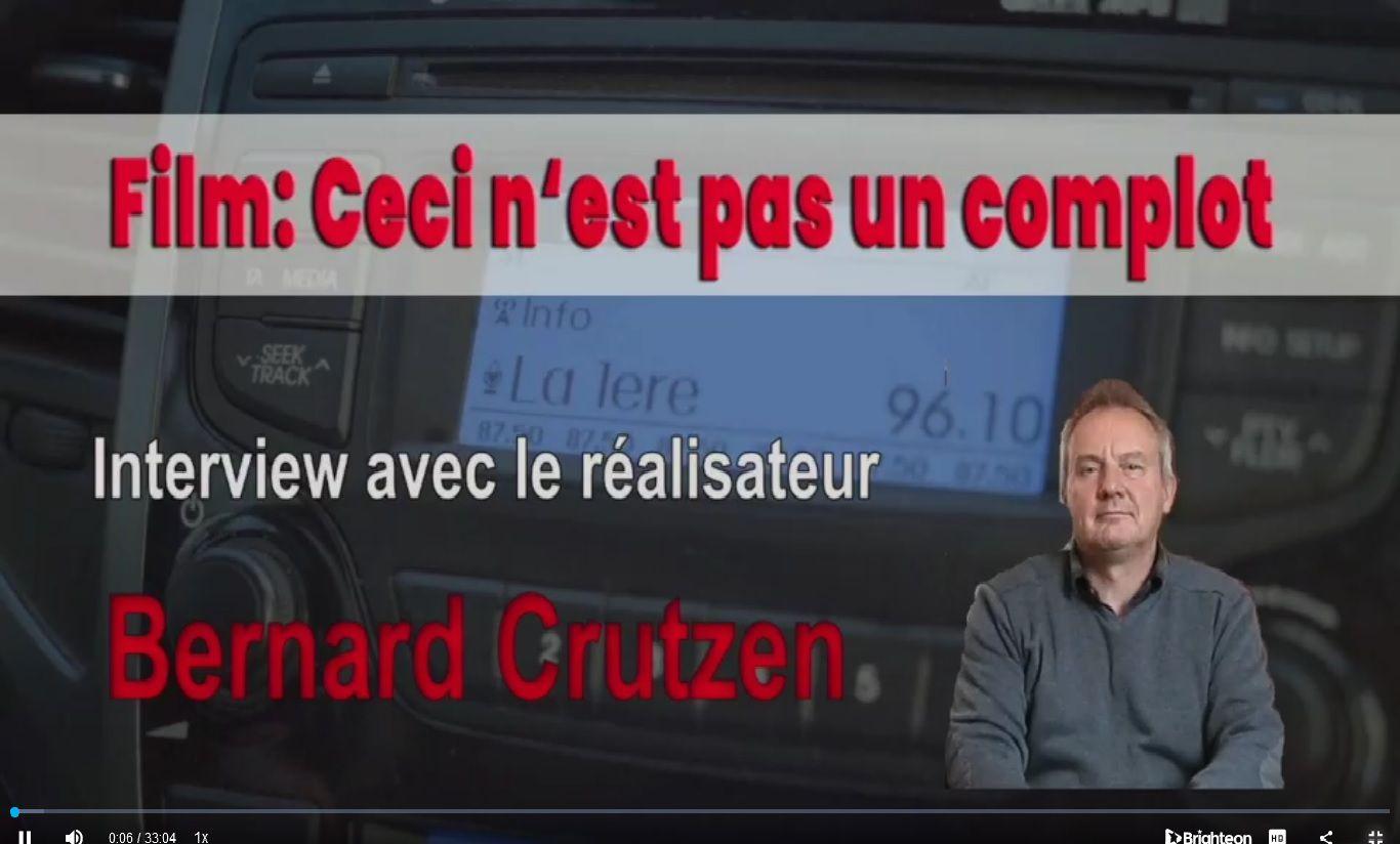 Interview avec Bernard Crutzen