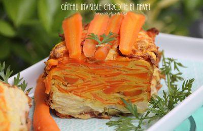 Gâteau invisible carotte et navet