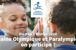 Journée Olympique lundi 3 février avec les 5èmes !