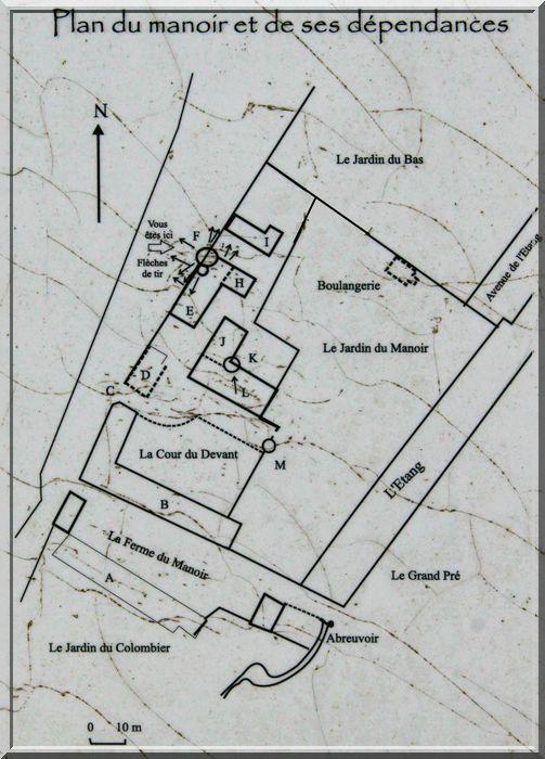 Diaporama manoir fortifié de Senoville