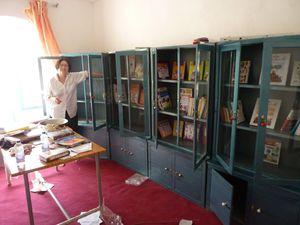 BIBLIOTHEQUE/CENTRE POUR FEMMES ET ENFANTS pour la jeunesse /LIBRARY/CENTRE FOR WOMEN AND CHILDREN , Farah, Afghanistan