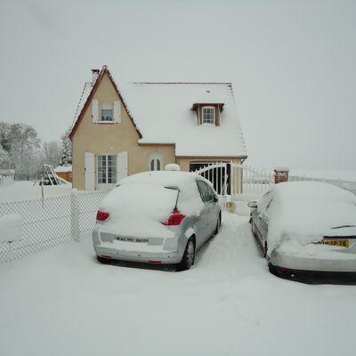 DEC 2010, la neige bloque tout