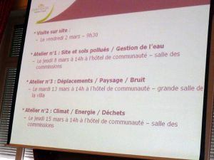 Requalification du site de la Paix à Algrange en 2012