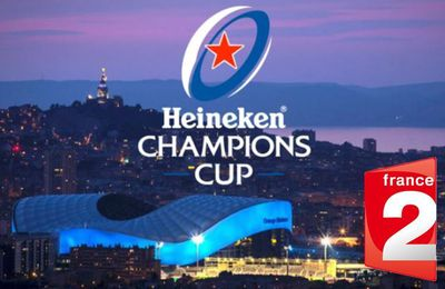 [Rugby] Un second match de Champions Cup diffusé chaque week-end sur France 2 !