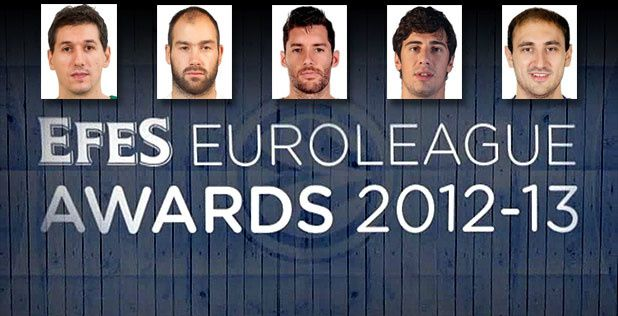All-Euroleague First and Second Teams announced
