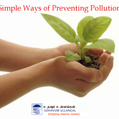 Simplest preventive solution from pollution
