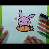 Como dibujar un conejo paso a paso 9   How to draw a rabbit 9