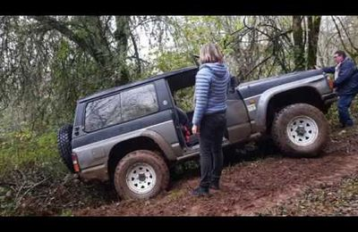 rando 4x4 off-road novembre 2019 sud ouest de France