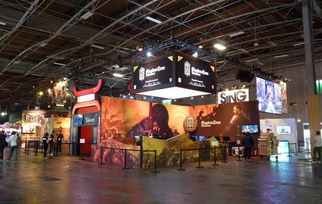 [PARIS GAMES WEEK 2017] Le stand KOCH MEDIA / DEEP SILVER