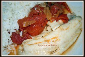 Cocotte de tilapia aux tomates et oignon