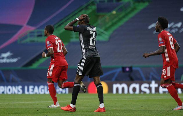 Lyon n'a pas passé l'obstacle du Bayern