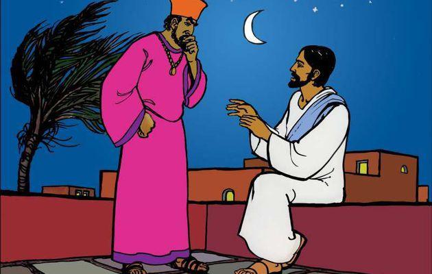 19. Jésus enseigne Nicodème