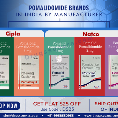 Pomalidomide Capsule & Tablet - Buy Pomalidomide Generics Online @Best Price | Fast Delivery in USA, Brazil, UK.....
