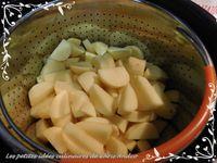 Méli mélo de crevettes sur purée de pommes de terre au curry et ratatouille