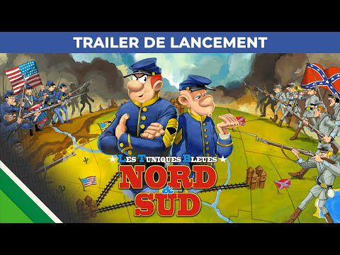 [ACTUALITE] Les Tuniques Bleues : Nord & Sud - Le jeu est à présent disponible