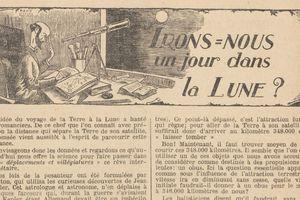 """Renée Dunan """"Irons-nous un jour dans la lune ?"""" (1921)"""