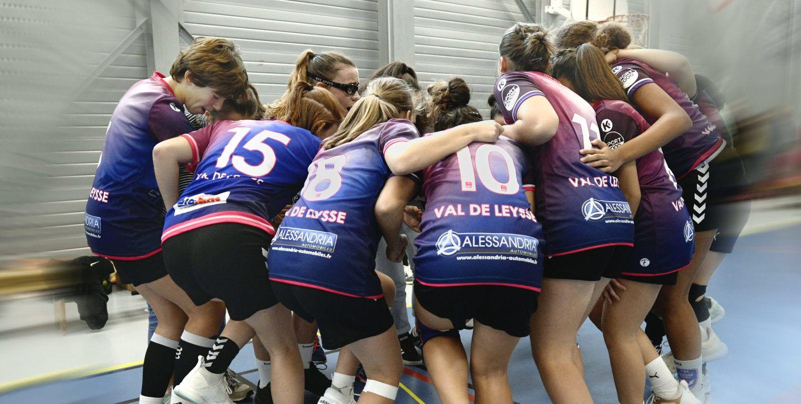 -16 filles une rencontre haute en couleur au VAL DE LEYSSE 27 septembre 2020