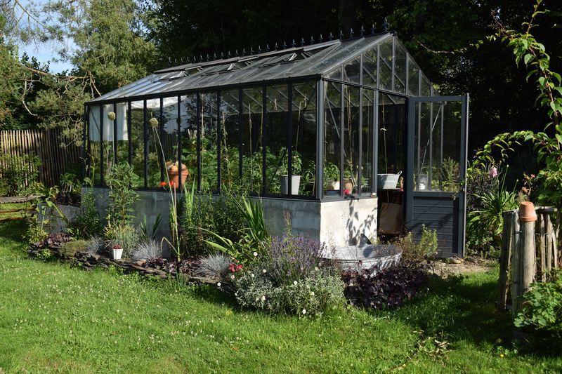 Nous avons installé la serre en 2010, ce sera donc ma douzième saison de tomates.