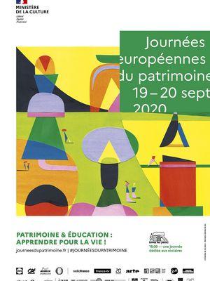 19 - 20 septembre 2020 : 37ème Journées européennes du Patrimoine