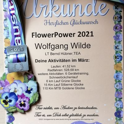 Flower Power März 2021