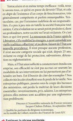 Histoire TH3.Les échelles de gouvernement. C1/ L'Etat'nation en France depuis la guerre.